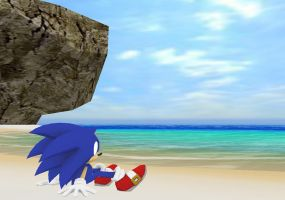 MMD Sonic 5 by mitchika2