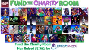 Fund The Charity Room 2016 by HeroArt110