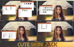Cute Skinpack 7,8/8.1 by TheDhruv