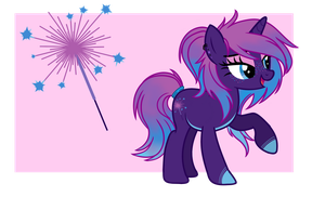 Fireworks Themed Pony Adopt (CLOSED) by EmbersLament