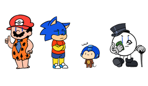 Smol Bootlegs (doodleeeeee) by CreepyGameArtistXD