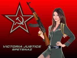 Victoria Justice Spetsnaz by Encore2012
