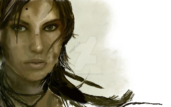 Work In Progress - Tomb Raider by CoverMeDesigns