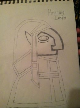 Linktober2017 Day 29 - Painting Impa by ChaudTheGamer