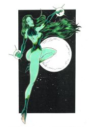 Green witch Clr by mikehegaman
