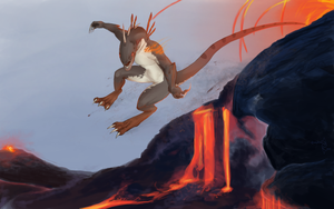 The molten mile race by Mythee