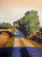 country road by classina