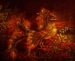 Fish -  the Firebird brings good luck by Poglazovs