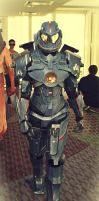 Gipsy Danger Cosplay by NeonThingy