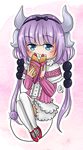 [F] Kanna and Her Crepe by AngelDranger
