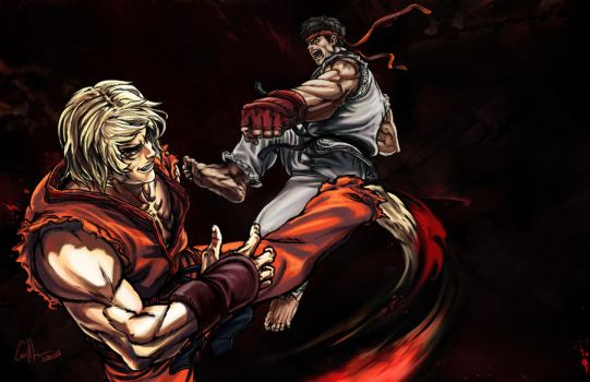 Street Fighters by CangDu