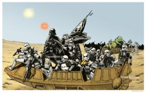 Vader Crossing The Delaware by nguy0699