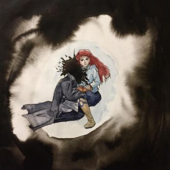 Shallan and Pattern vs the Unmade by SpiralofDragon
