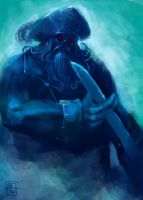 Ghost LeChuck by SirIce