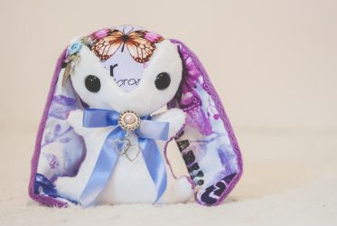 Idella - Teacup Bunny Plushie - For Sale by tiny-tea-party