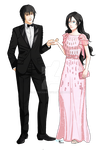 Couple Formal by annuchan