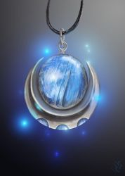 Pendant - Eye of the Moon by Galder