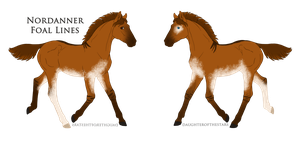 A3044 Foal Design by DinoGalaxy