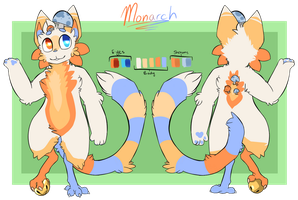 Monarch Reference Sheet by whyryn