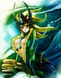 League of Legends Fan Art - Nami by WaterRing