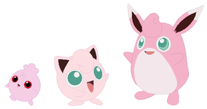 Igglybuff, Jigglypuff and Wigglytuff Base