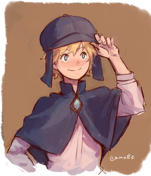 Blossom Detective Holmes by amiette