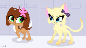 LPS Popular Savy and Brooke by Kaiilu