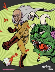 One Punch Man by mike-loscalzo