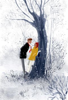 The red scarf. by PascalCampion