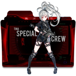 Tina Closers Special Crew Folder Icon by AKurniawanN
