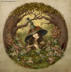 The Frog Witch by LiaSelina
