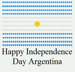 Happy Independence Day Argentina by DarkVampirequeen9