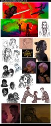 Sketchdump 19 by ZetsubouZed