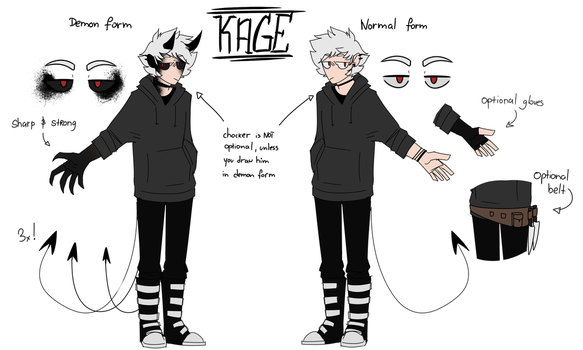 Super Ultimate Kage's ref by STRAY-KAGE