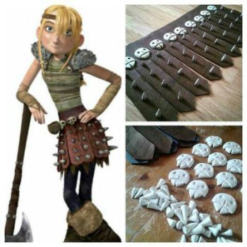 Astrid Cosplay Skirt WIP by BigMamaBear