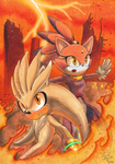 + Silver and Blaze + Crisis City by MEISerenade
