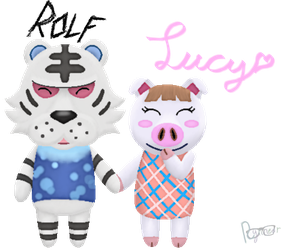Rolf and Lucy by Rynneer