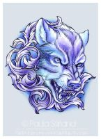 Filigree Wolf by hatefueled