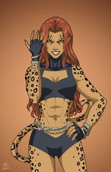 Cheetah (Earth-27) commission by phil-cho