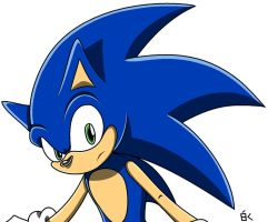 Sonic The Hedgehog by Tails1998