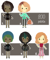 [open 2/5] set #11 modern cheeb by AlexanderPaupoff