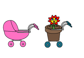Baby Carriage by florapolitis