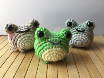 Frogs and Toad by MoonYen