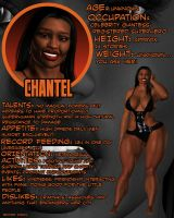 Chantel Profile by BrotherVirgil