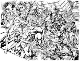 Powerhouse cover inked by gammaknight