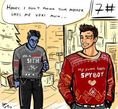 Christmas Sweaters from Satele Shan. by Tamagi