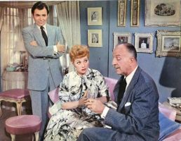 James Mason,Lucy,Louis Calhern 1956 by slr1238