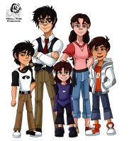 BH6: The Hamada Family (Sugar Hearts) by Aileen-Rose