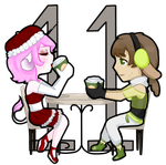 [25 DoC] Day 11 - Aurora and Virgil by PIantea