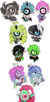 Trade chibs by BiiaBabe